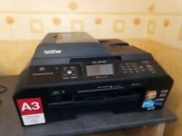 Brother MFC-J5910DW All in One A3 & A4 Printer – Used but in working condition