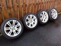"""17"""" Genuine BMW E90 M Sport Staggered Alloys E91 E92 F30 E36 E46 E87 Z3 Z4 M 194 Alloy wheels Rims"""