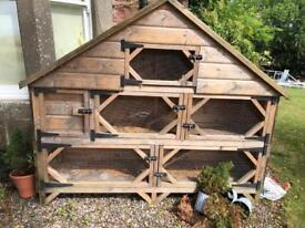 Super rabbit hutch for sale