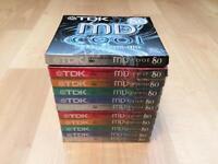 TDK Mini Discs x11