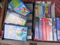 Childrens VHS videos