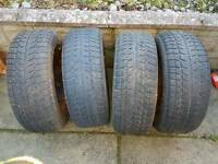 4 tyres for sale