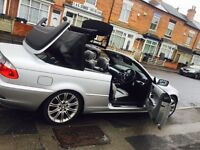 BMW 318 Ci cabriolet 54 reg SPORTS ELECTRIC HOOD FULL LEATHER INTERIOR
