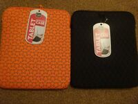 New Go Travel Tablet Protective Case Ipad Compatible in Orange or Black £3 each ideal gift holiday