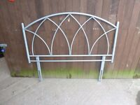 Metal Double Head Board Delivery Available