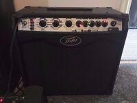 Peavey Vypyr VIP 2 Guitar/Bass Amplifier 40W & Peavey Sanpera 1 Footswtich