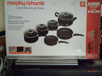 Morphy Richards 6 Piece Pan Set with Tool Set