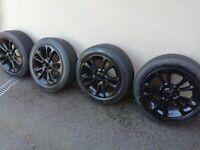 4 x 100 alloy wheels
