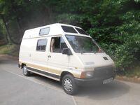 Renault Trafic Camper Van, Long MOT + Tax, Low Miles