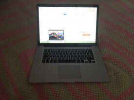 MacBook Pro 15 inch Retina in great condition