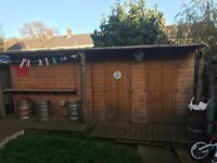 Shed/bar 18ft x8