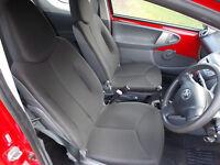 2010 (10) Toyota AYGO 1.0 VVT-i Red, Manual, 12 Mths MOT & Full History C1, 107