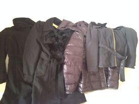 2 coats and 2 jackets