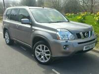 2010 NISSAN X-TRAIL TEKNA DCI 173*FSH*SAT NAV*HEATED LEATHER*PAN-ROOF*REVERSE CAMERA*XENONS#JEEP#SUV