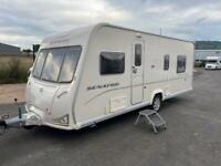 Bailey Senator Island bed caravan