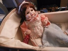 Collectable Porcelain/china Baby Doll