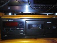 Vintage Tascam 102 mark 11 cassette tape deck player recorder