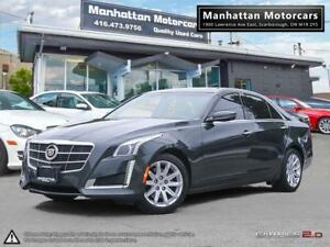2014 CADILLAC CTS 2.0T LUXURY PKG |NAV|PADDLESHIFT|WARRANTY|51KM