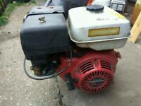 HONDA GX 240CC ENGINE-Mint condition/£130 AIR COMPRESSOR/GENERATOR ENGINE