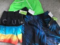 BRAND NEW boys 2-3 swim shorts