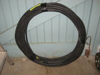 26.8m long electrical cable, 3x16mm2 cores