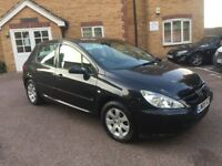 2005 PEUGEOT 307 1.6 PETROL LOW MILES FULL SERVICE HISTORY