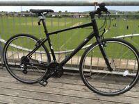 MARIN FAIRFAX SC1 HYBRID BIKE - Matte Black (MINT CONDITION) - BOUGHT NEW FOR £400