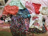 Girls Bundle of summer clothing age 5/6