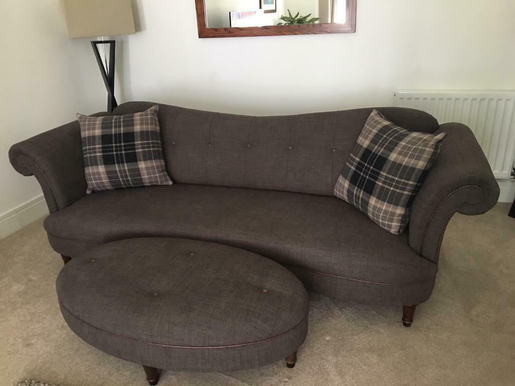 Fine Dfs Sofa 4 2 Seaters Chair And Footstool In Burntisland Fife Gumtree Andrewgaddart Wooden Chair Designs For Living Room Andrewgaddartcom