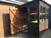 8' x 6' garden shed