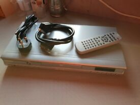Toshiba DVD player with scart lead and remote control for sale, good condition