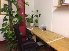 Office / Desk Space in Stoke Newington / Hackney - £200 per Desk (incl. bills, bright and beautiful)