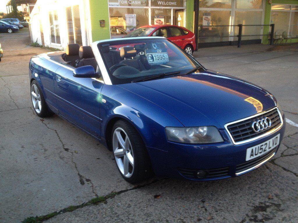audi a4 2015 convertible. swainsthorpe motor co 2002 audi a4 se cabriolet 24 convertible blue full audi 2015 convertible