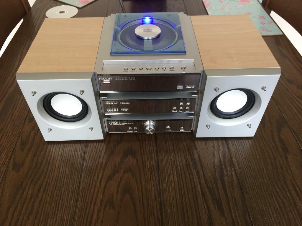 Hitachi midi separates hifi
