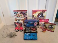 Pokemon 3ds xl limited edition +Pokemon y and Ruby Omega limited editions