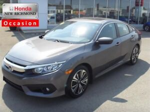 2016 Honda Civic Sedan 4dr CVT EX-T VERY LOW KM!!!