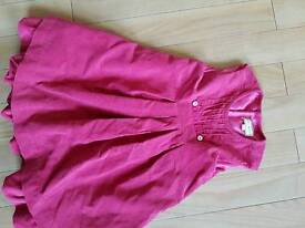 D'Arcy Brown London dress age 2 in dusky pink