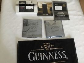 6 Guinness Promotional items
