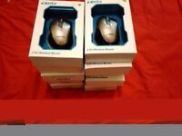 Lot of 10 x Xenta 2.4G wireless mouse Brand New