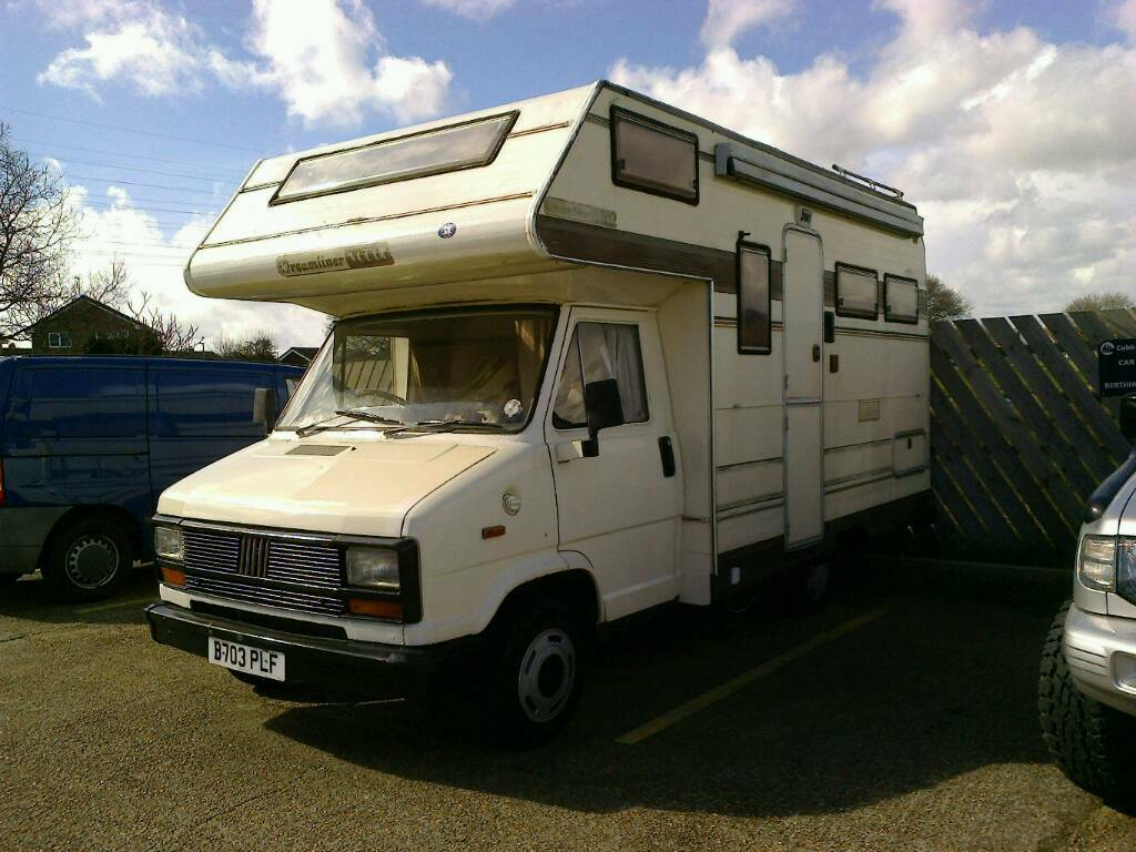 fiat ducato camper van 1985 in bournemouth dorset gumtree. Black Bedroom Furniture Sets. Home Design Ideas