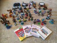 Skylander games, figures and portals