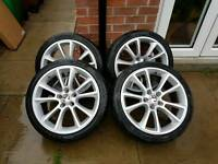 "4xVXR 17"" Alloys with tyres for sale"