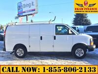 2008 GMC Savana 2500 G2500 Cargo 4.8L Vortec Gas, Shelving Ladde