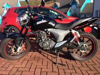 KSR CODE 125cc. Perfect learner bike, low mileage and looks fantastic.