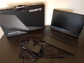 High Performance Gaming Laptop Gigabyte Aero 15X-CF2 i7 7700HQ, 16GB DDR4, 512GB, GTX 1070 Max-Q