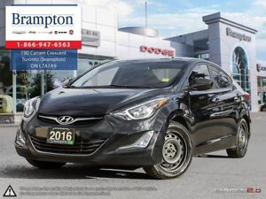 2016 Hyundai Elantra | 1 OWNER | BLUETOOTH | BACKUP CAMERA | HEA