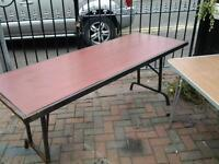2 large tables ideal for parties or barbecues
