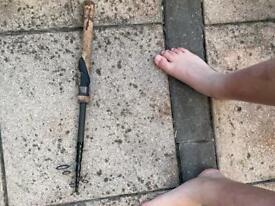 Fish rod and 11 hooks