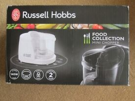 Brand new never been used Russell Hobbs mini chopper