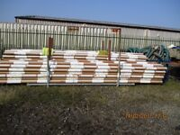 """110mm (4"""") Underground Plain Ended Drainage PVCu Pipe £2 Per Pipe"""